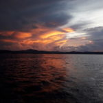 sailing sun set tourn Palau