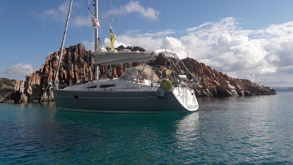 Barca a vela Spargi-isole Maddalena